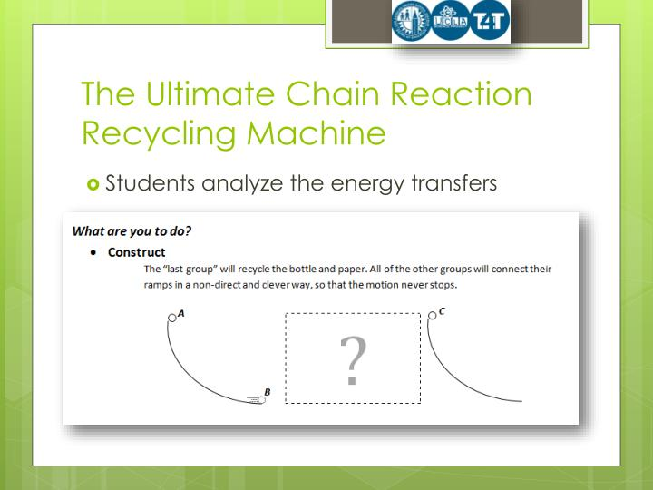 The Ultimate Chain Reaction Recycling Machine