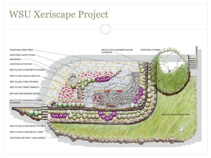 WSU Xeriscape Project