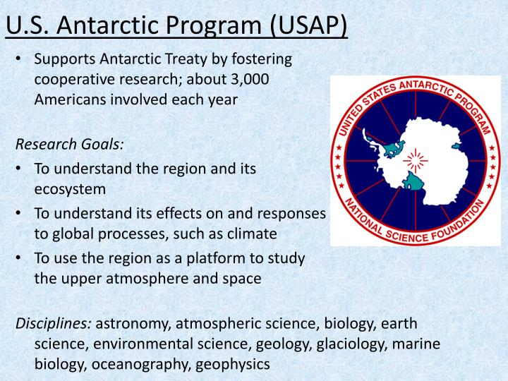 U.S. Antarctic Program (USAP)