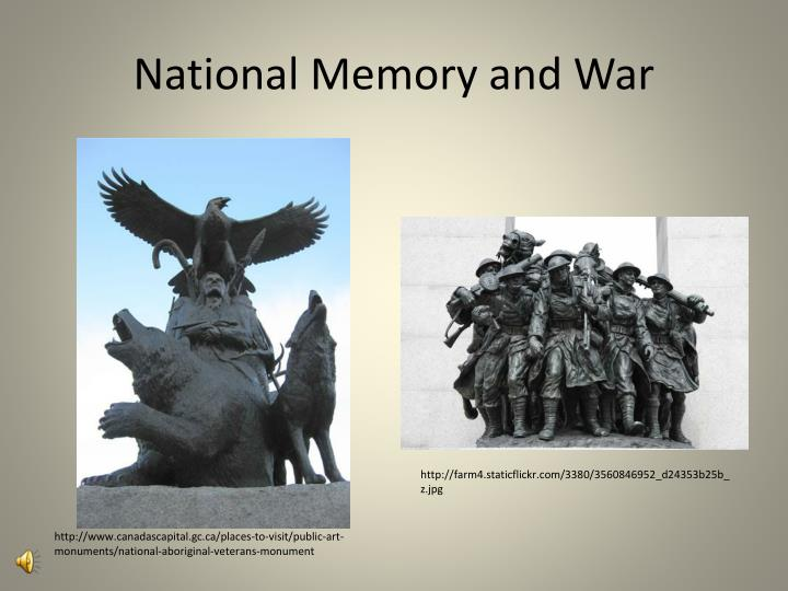 National Memory and War