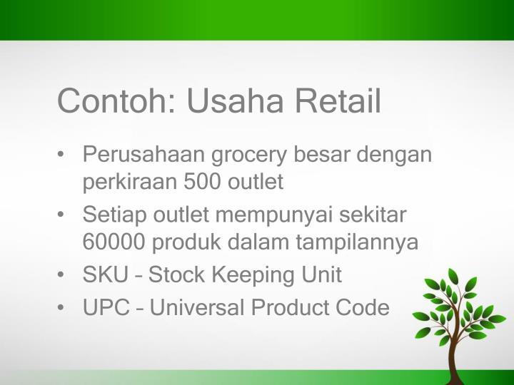 Contoh: Usaha Retail