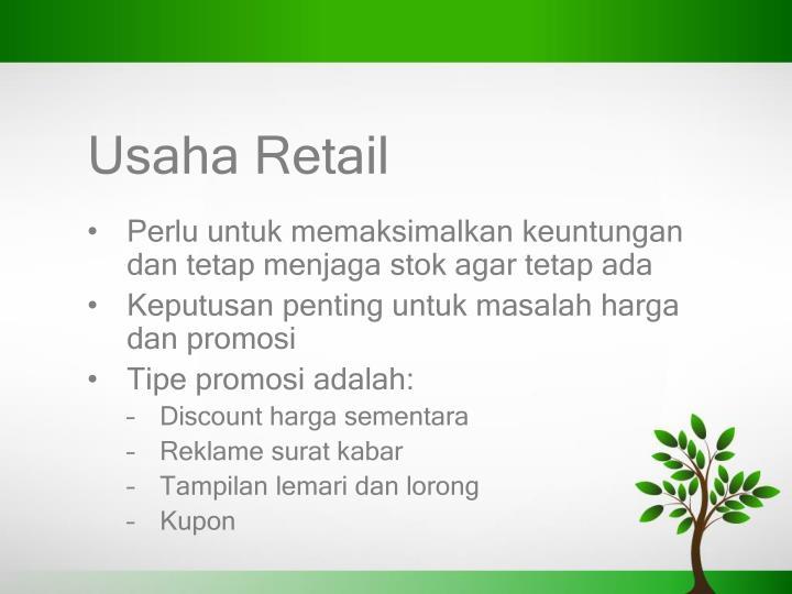 Usaha Retail