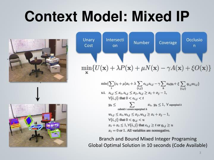 Context Model: Mixed IP