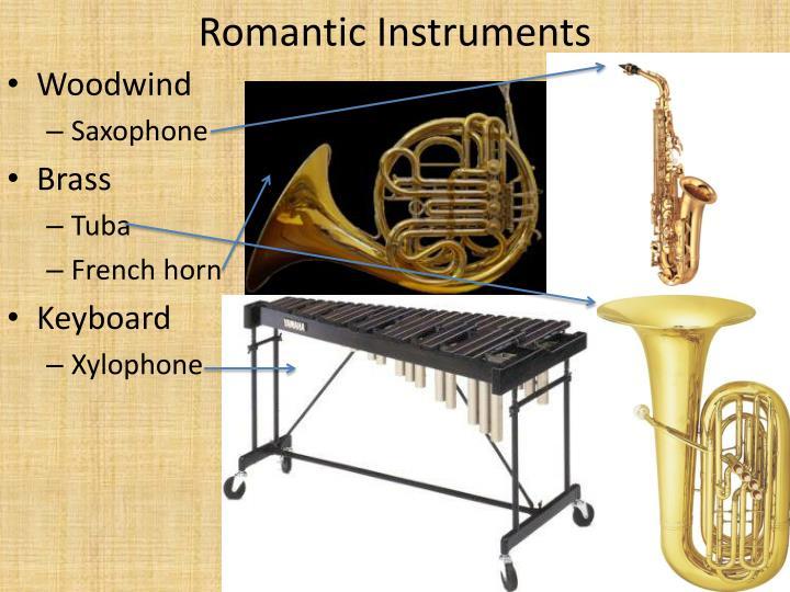 Romantic Instruments