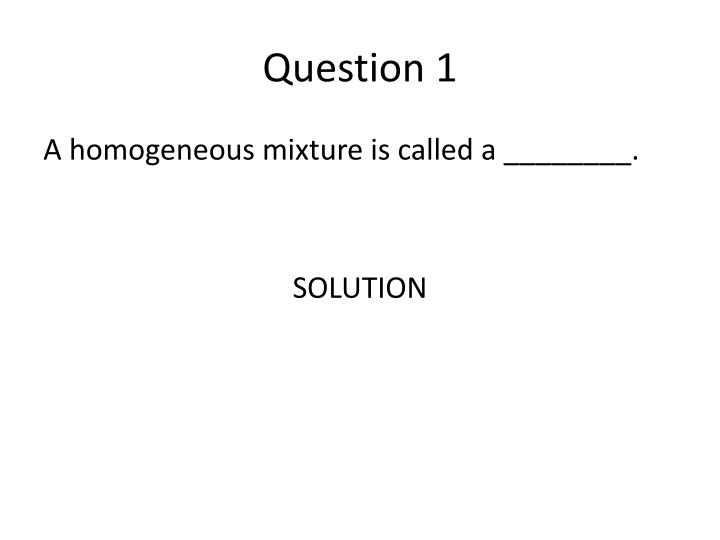 Question 11