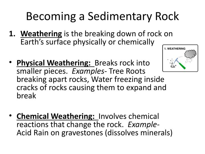 Becoming a Sedimentary Rock