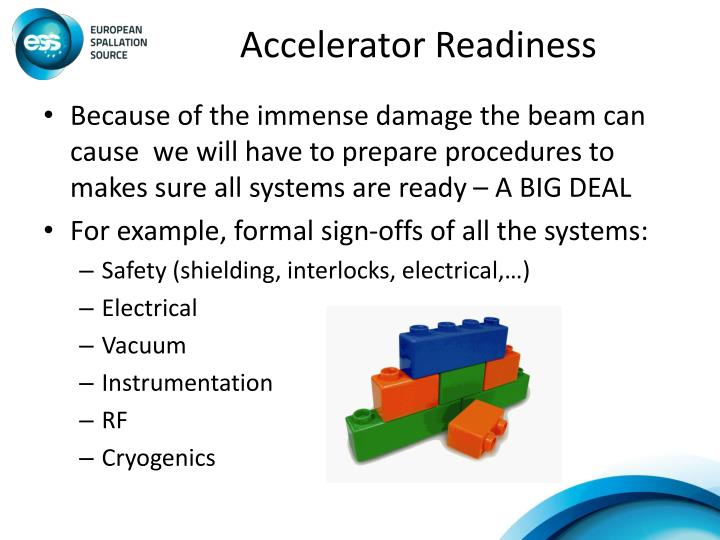 Accelerator Readiness