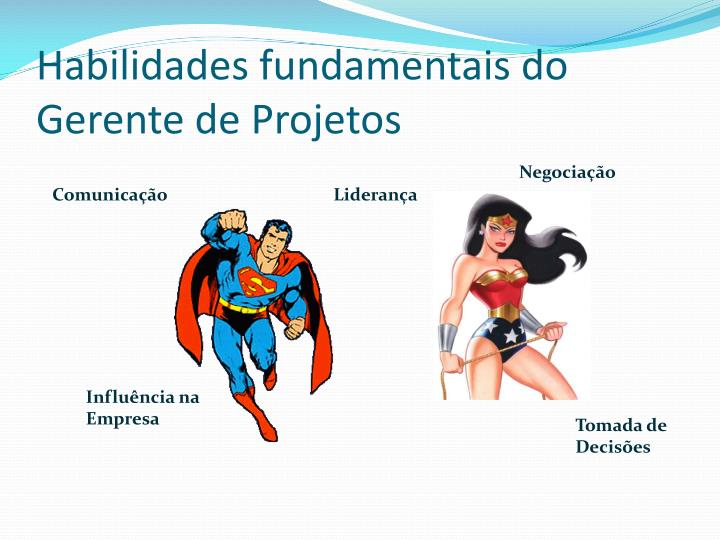 Habilidades fundamentais do Gerente de Projetos