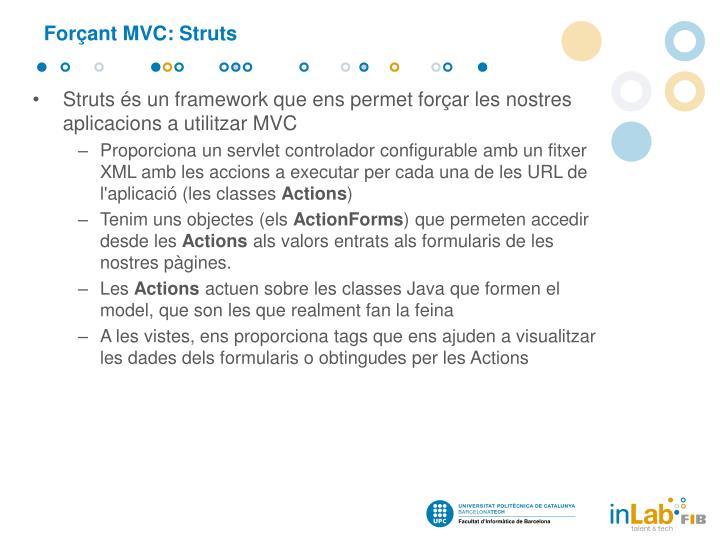 Forçant MVC:
