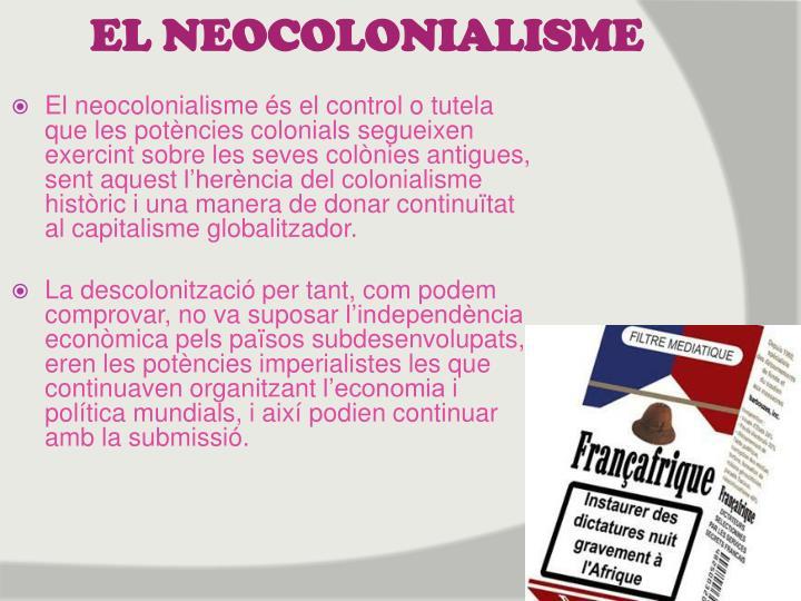 EL NEOCOLONIALISME