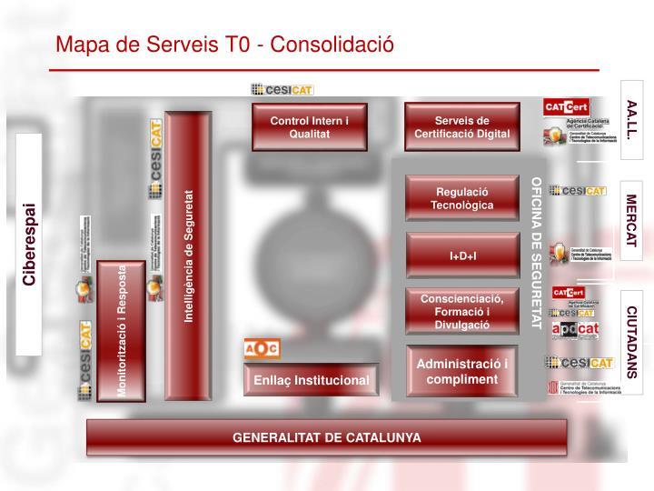 Mapa de Serveis T0 - Consolidació