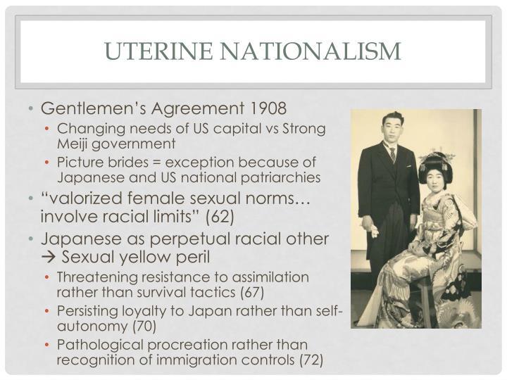 Uterine nationalism