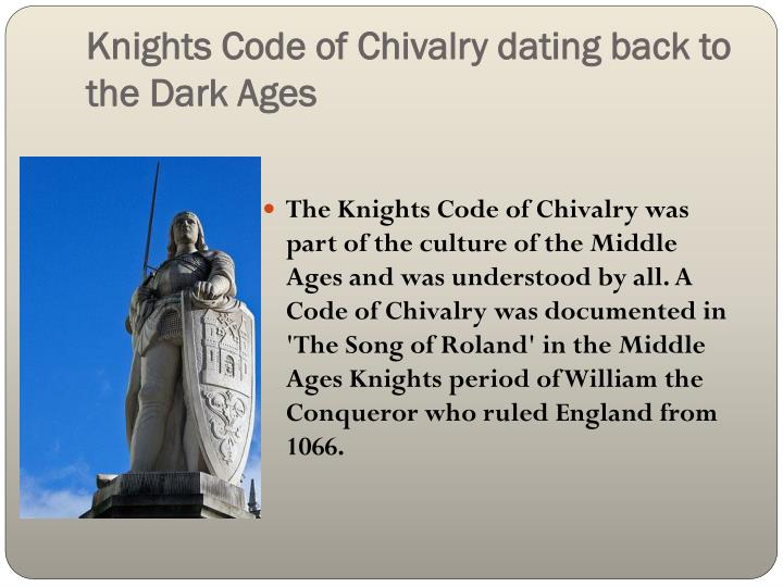 the importance of chivalry and its features A case study test of the chivalry hypothesis the structural features and narrative subtleties of has demonstrated the importance of visual material in.