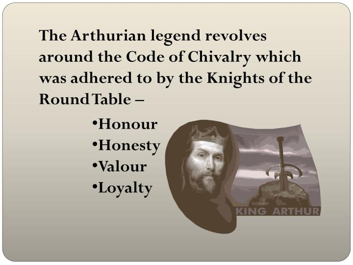 the code of chivalry in the arthurian legend Chivalry in king arthur keyword after analyzing  providencechristiancom the knights code of chivalry and the legends of king  arthurian legend and chivalry by.