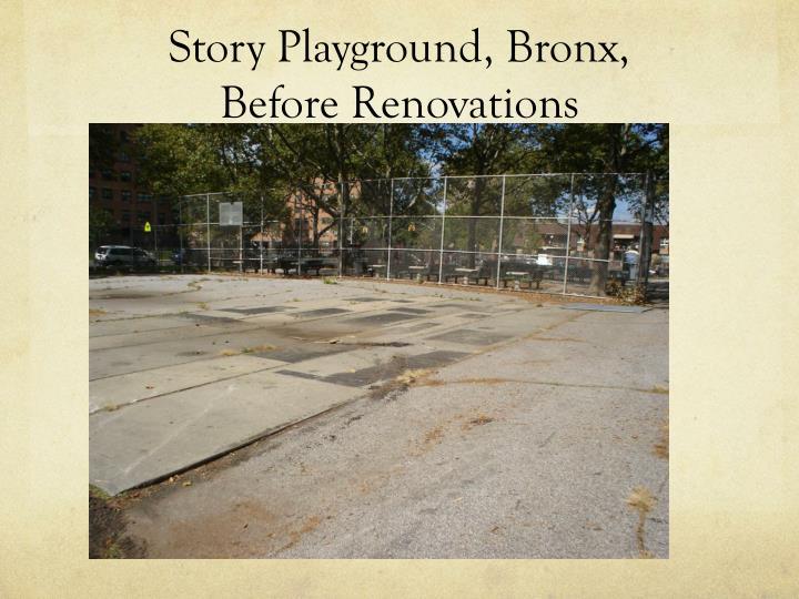 Story Playground, Bronx,