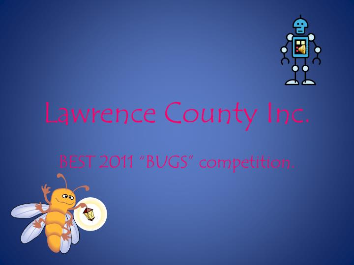 Lawrence county inc