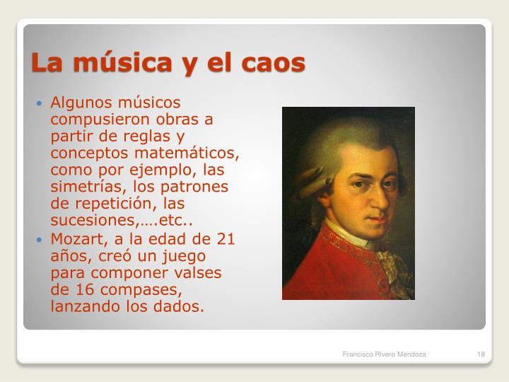 La música y el caos