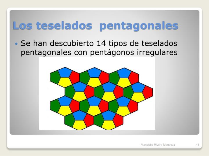 Los teselados  pentagonales