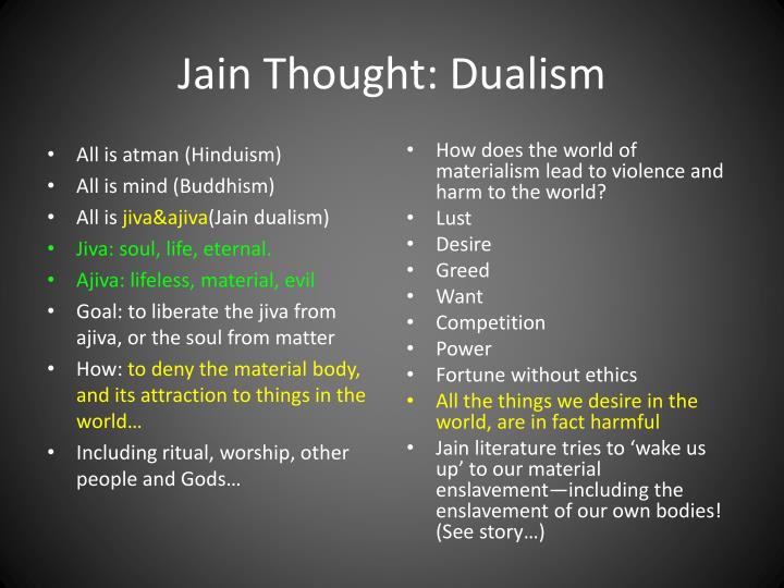 Jain Thought: Dualism