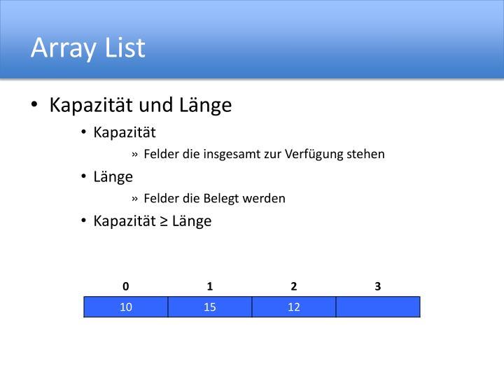 Array List