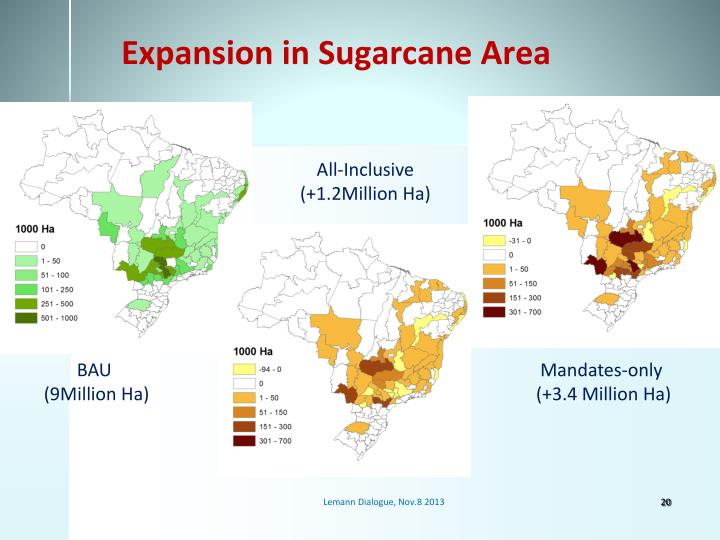 Expansion in Sugarcane Area