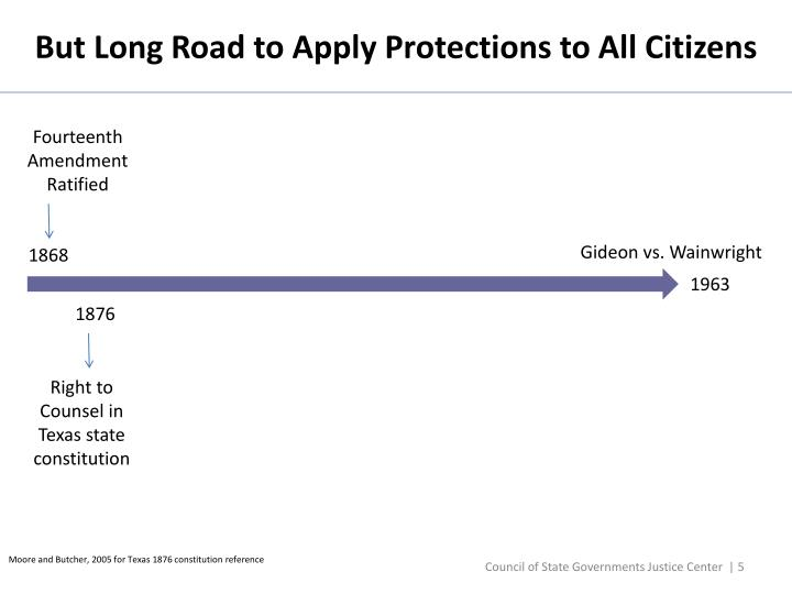 But Long Road to Apply Protections to All Citizens