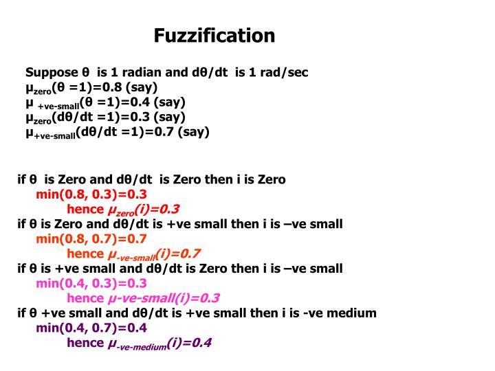 Fuzzification
