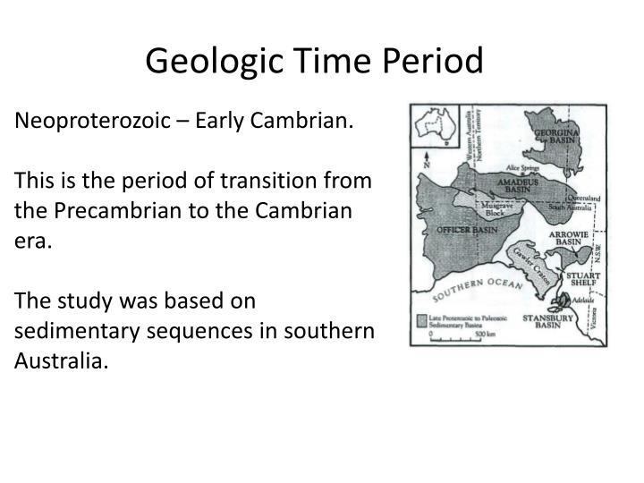 Geologic Time Period