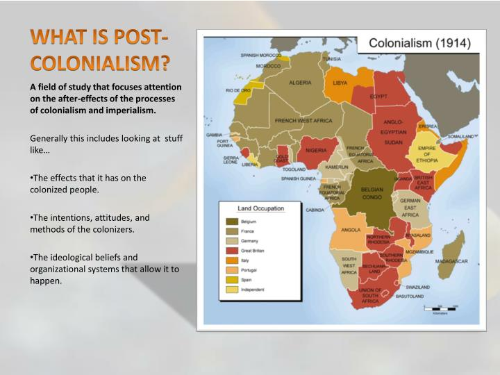 WHAT IS POST-COLONIALISM?