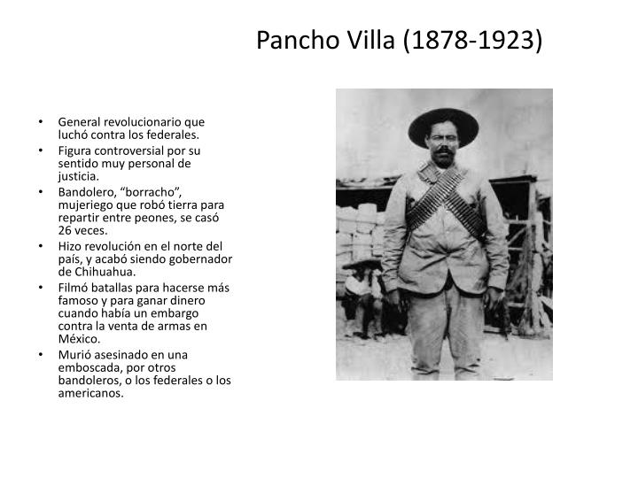 Pancho Villa (1878-1923)