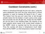 cooldown constraints cont1