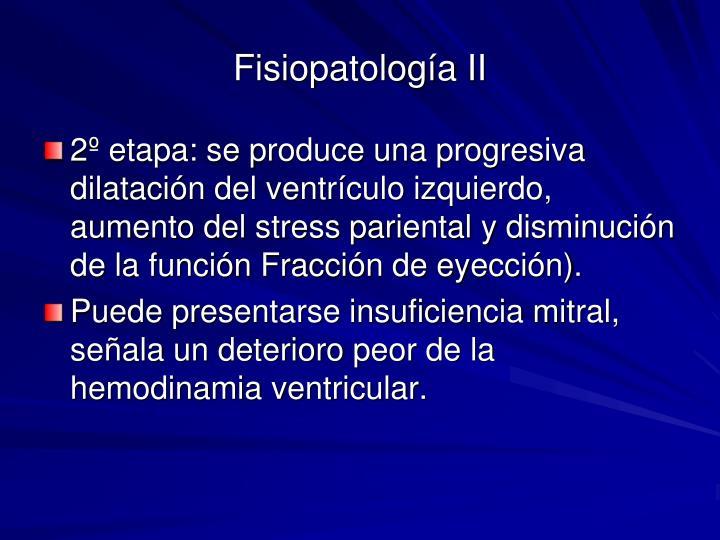 Fisiopatología II