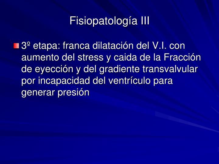 Fisiopatología III