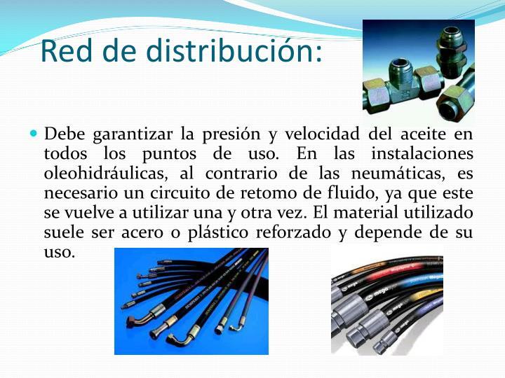 Red de distribución: