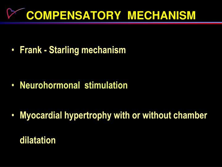 COMPENSATORY  MECHANISM