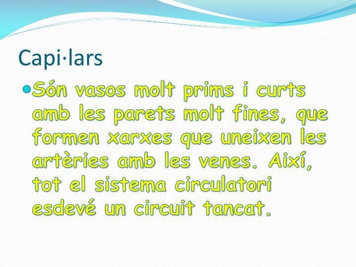 Capi·lars