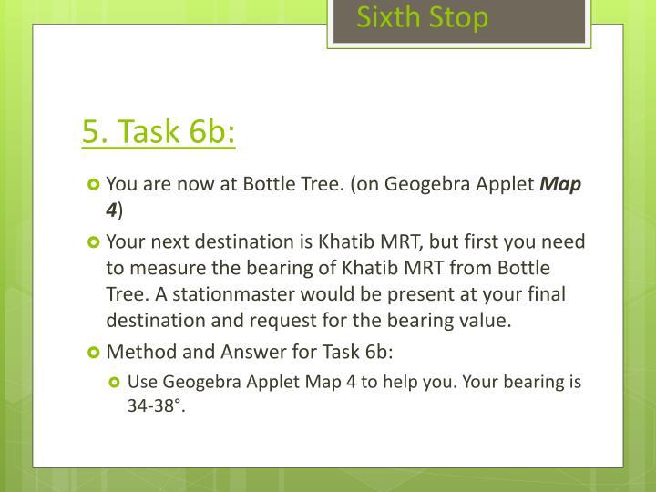 Sixth Stop
