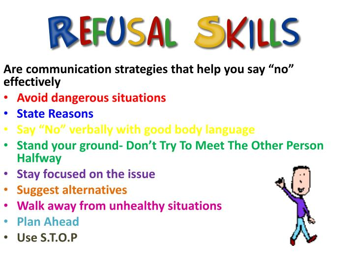 "Are communication strategies that help you say ""no"" effectively"