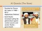 al qaeda the base