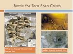 battle for tora bora caves