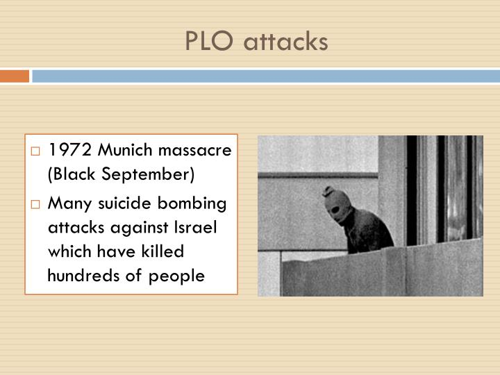 PLO attacks