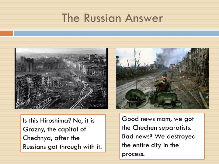 The Russian Answer