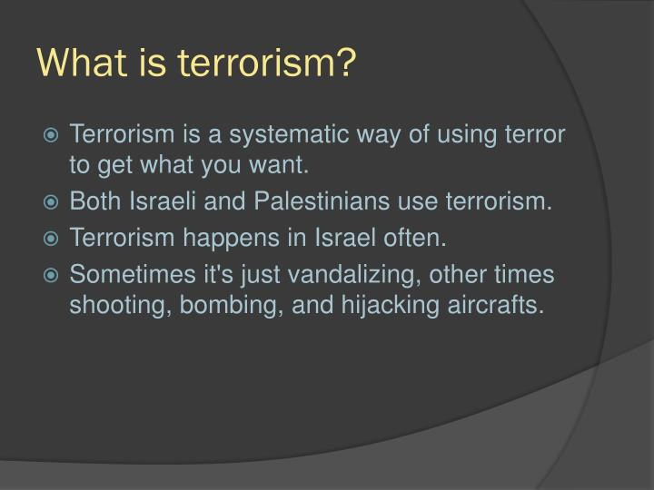 what is terrorism Why the fbi isn't calling san bernardino 'terrorism' the technical definition of such acts is often at odds with public understanding.