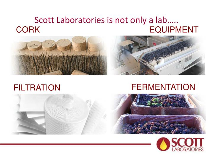 Scott Laboratories is not only a lab…..