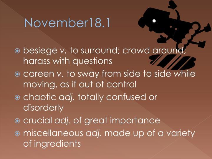 November18.1