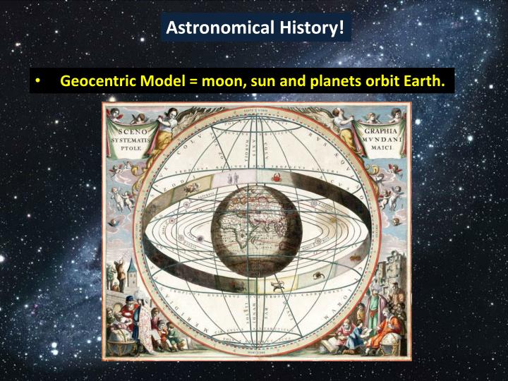 Astronomical History!