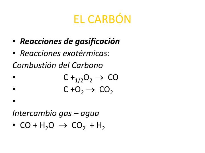EL CARBÓN