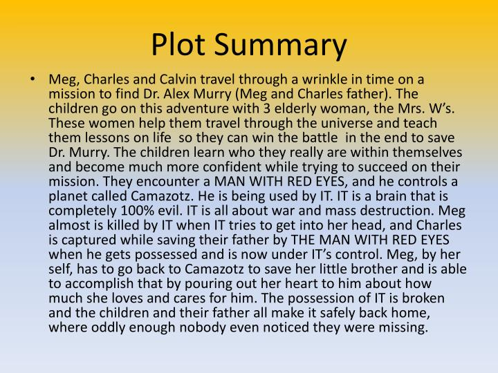 Plot Summary