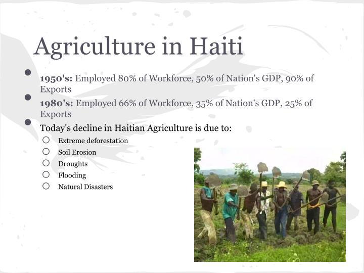 Agriculture in Haiti
