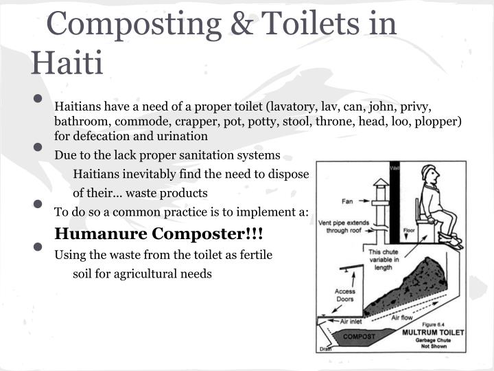 Composting & Toilets in Haiti